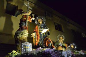 Processione dei Misteri di Trapani - Gesù nell'orto del Getsemani