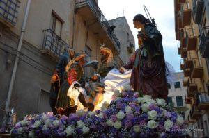 Processione dei Misteri di Trapani - Il Trasporto al Sepolcro