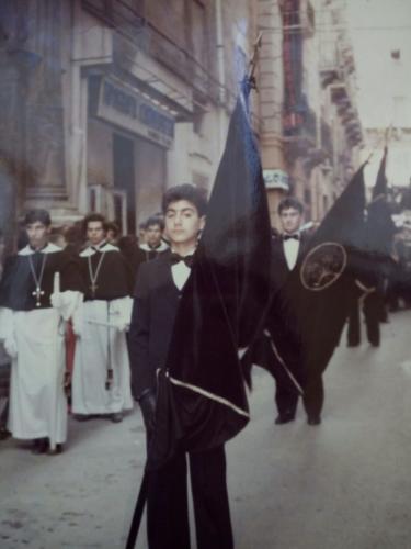 """Processione de """"L'Arresto"""" del 1985"""