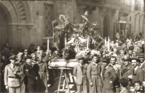 """Processione de """"L'Arresto"""" – Anni 50"""