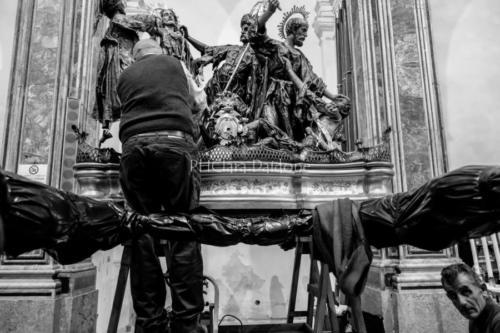 """Processione de """"L'Arresto"""" del 2018 - Foto di Clara Daidone"""