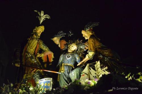 5° Gruppo Sacro: Caduta al Cedron