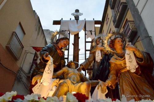 """17° Gruppo Sacro: """"La Deposizione"""""""