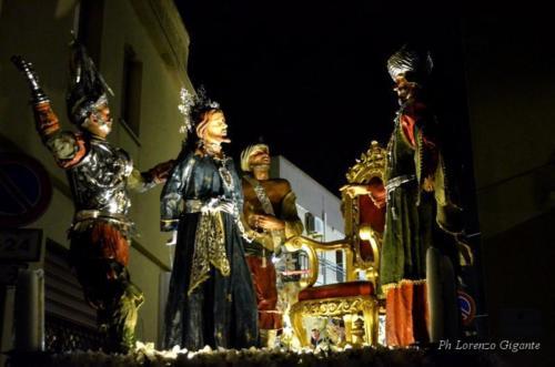 "6° Gruppo Sacro: ""Gesù dinanzi ad Hanna"""