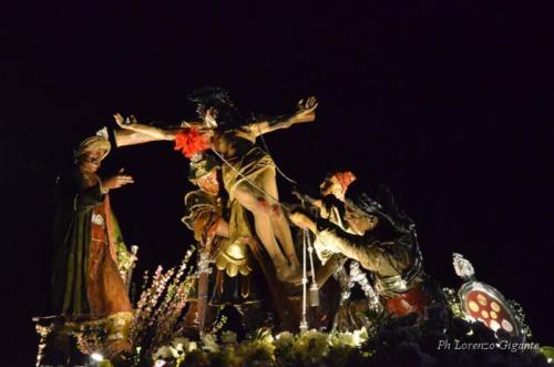 """15° Gruppo Sacro: """"La Sollevazione della Croce"""""""